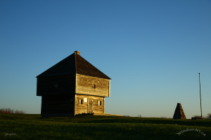 Fort Edward Blockhouse in Windsor Nova Scotia. Built in 1750